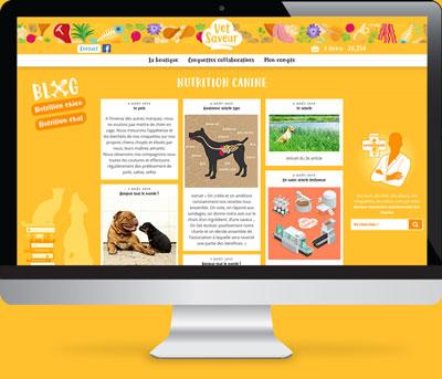 Blog collaboratif sur la nutrition canine et féline