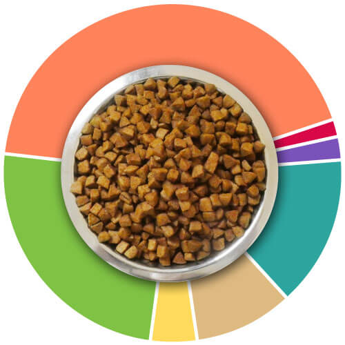 croquettes chat senior informations analytiques